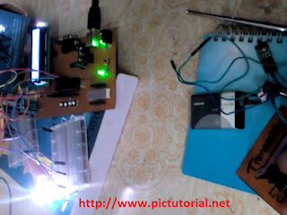 Microcontroller Project : RF 433 MHz ( Wireless Radio Frequency ) Module Controlled LED Switching using Pic Microcontroller