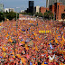 A million attend rally in Barcelona to call for Catalan independence