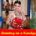 Gayathri Kanchanamali in kandyn bridal dress