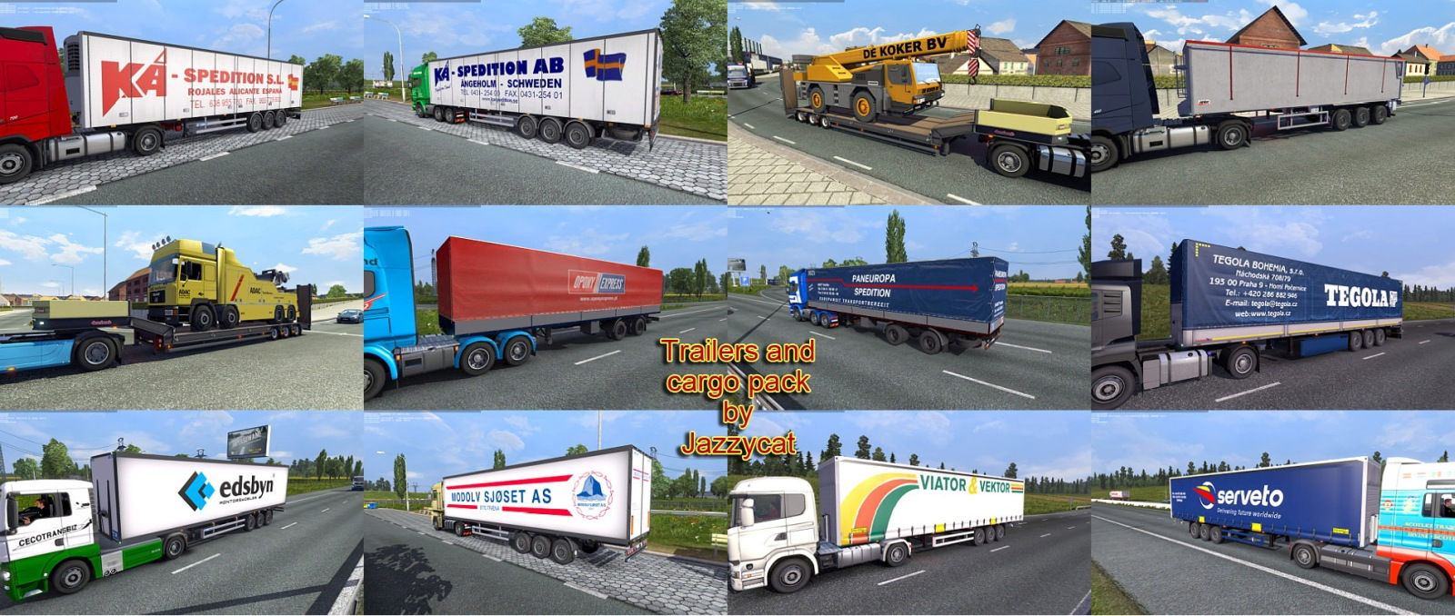 Trailers and Cargo Pack mod 2.7