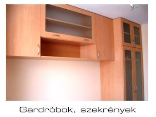 Gold Bútor - gardróbok, szekrények