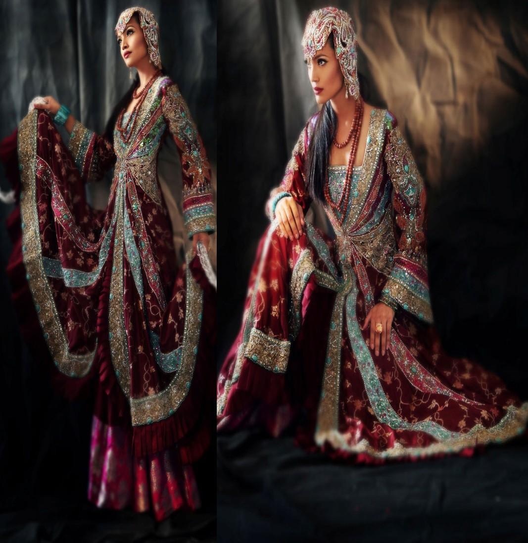 Pakistani Bridal Wear: Traditional Bridal Dresses By Pakistani Designers 2012