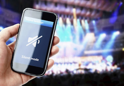 Silent smartphone