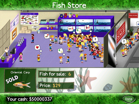 Fish Tycoon PC Game