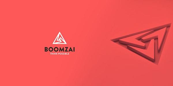 Inspirasi Desain Logo Kreatif 2017 - Boomzai Think Posible Logo