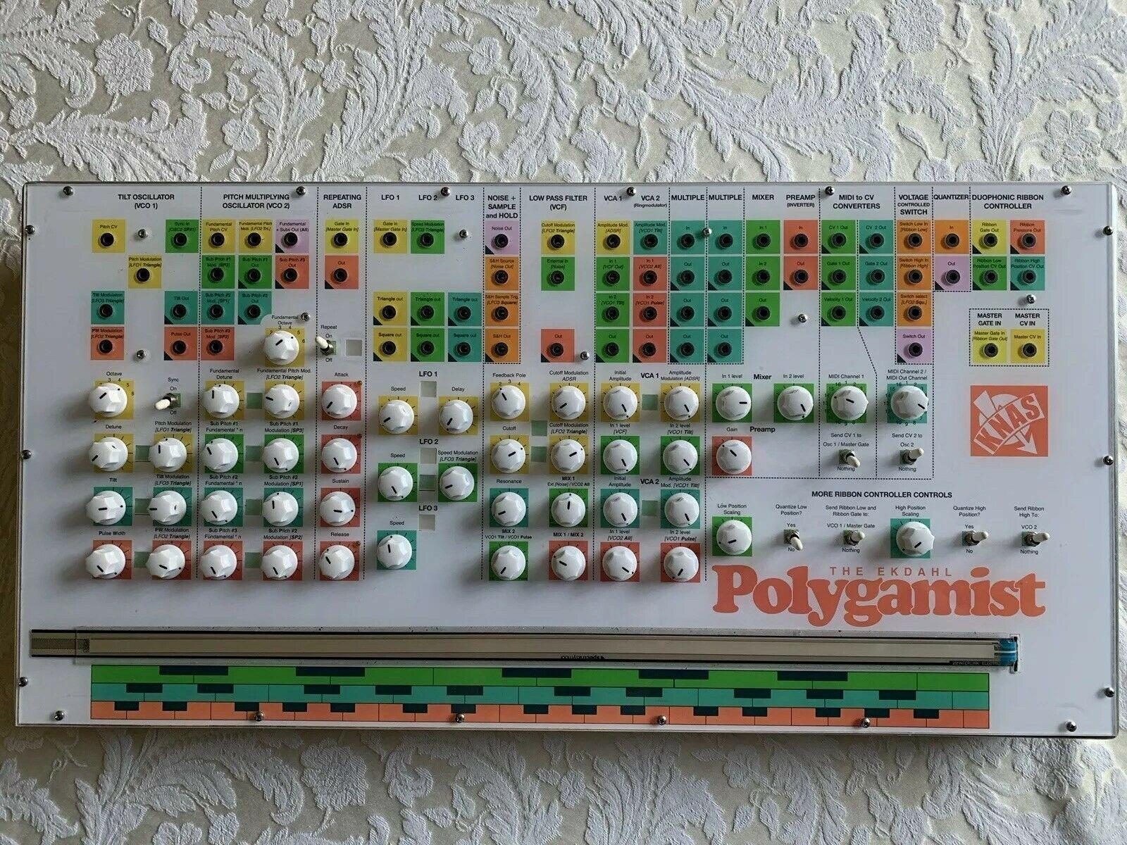 matrixsynth ekdahl polygamist modular synthesizer. Black Bedroom Furniture Sets. Home Design Ideas