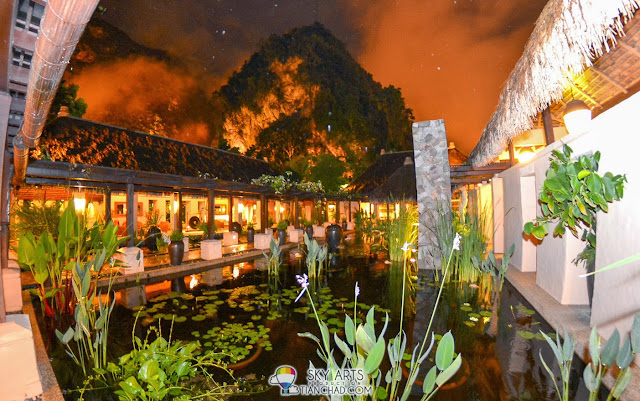 Raining at night @ The Banjaran Hotsprings Retreat Ipoh.