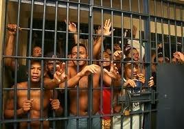Image result for fotos de carceles llenas de presos en santiago rodriguez