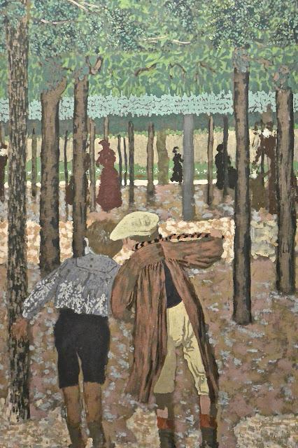Musées royaux des beaux-arts de Bruxelles Musée Fin de siècle Edouard Vuillard : les deux écoliers
