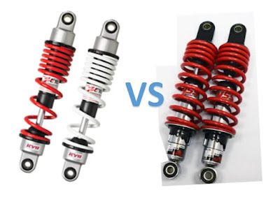 shock breaker YSS vs Kayaba KYB
