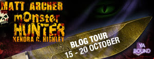 Blog Tour: Matt Archer: Monster Hunter by Kendra C. Highley *Promo, Interview, & Giveaway*