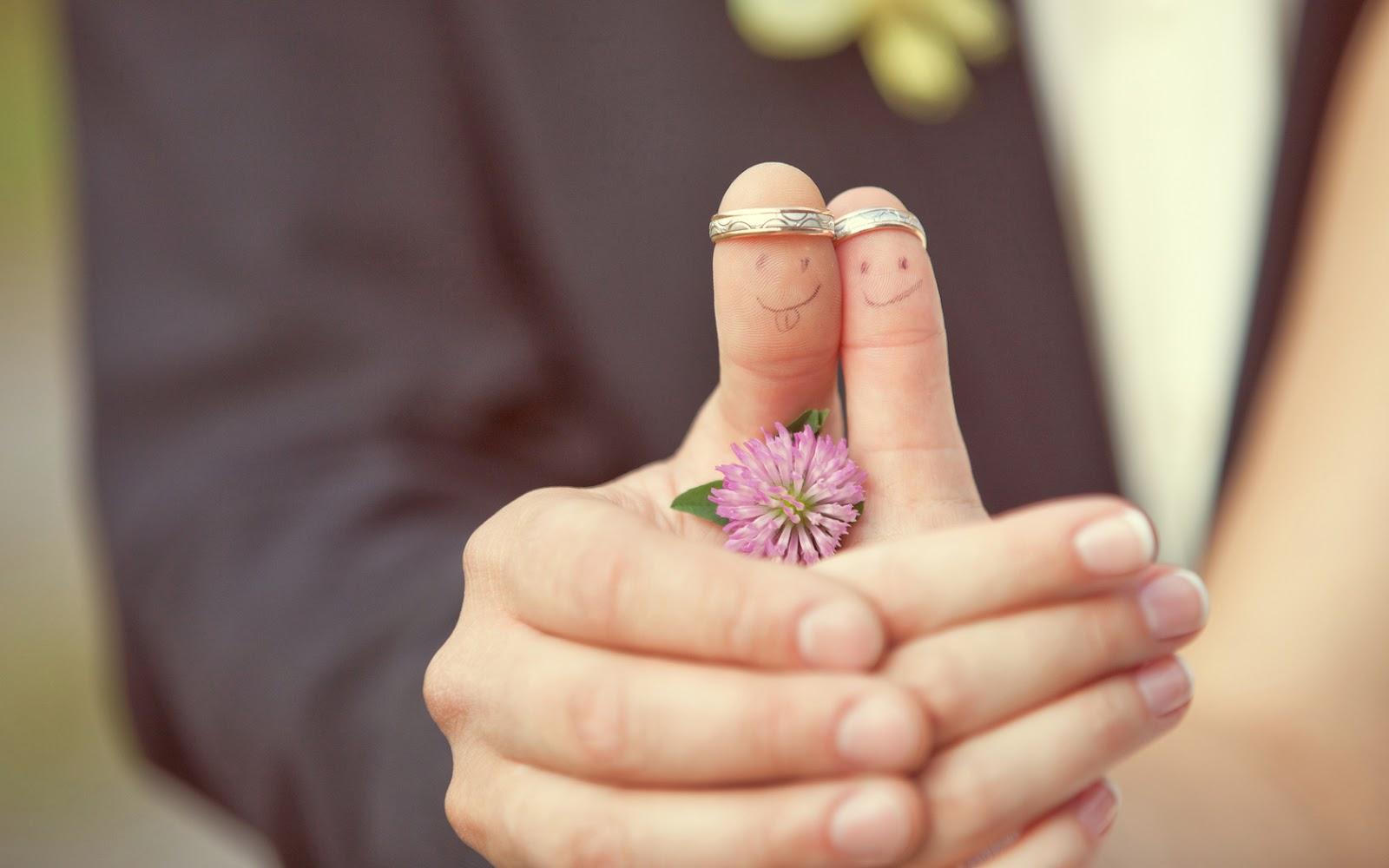 Imágenes De Amor Para Fondo De Pantalla Dedos De La Boda Del Amor