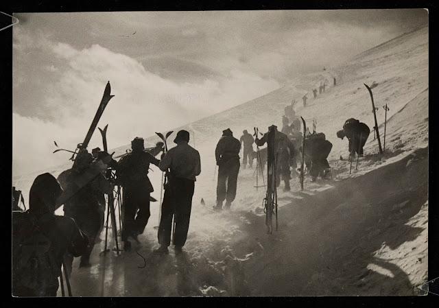 Zakopane Blog: Zamieć śnieżna na Kasprowym Wierchu/1939 rok