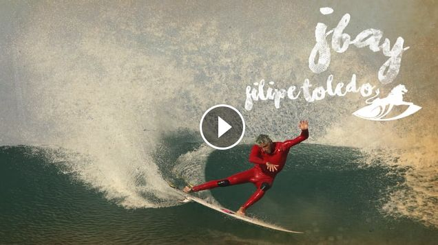 Breaking the scale at J-Bay - Filipe Toledo