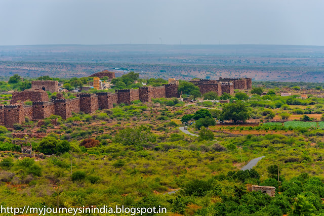 Gandikota Grand Canyon of India Fort view