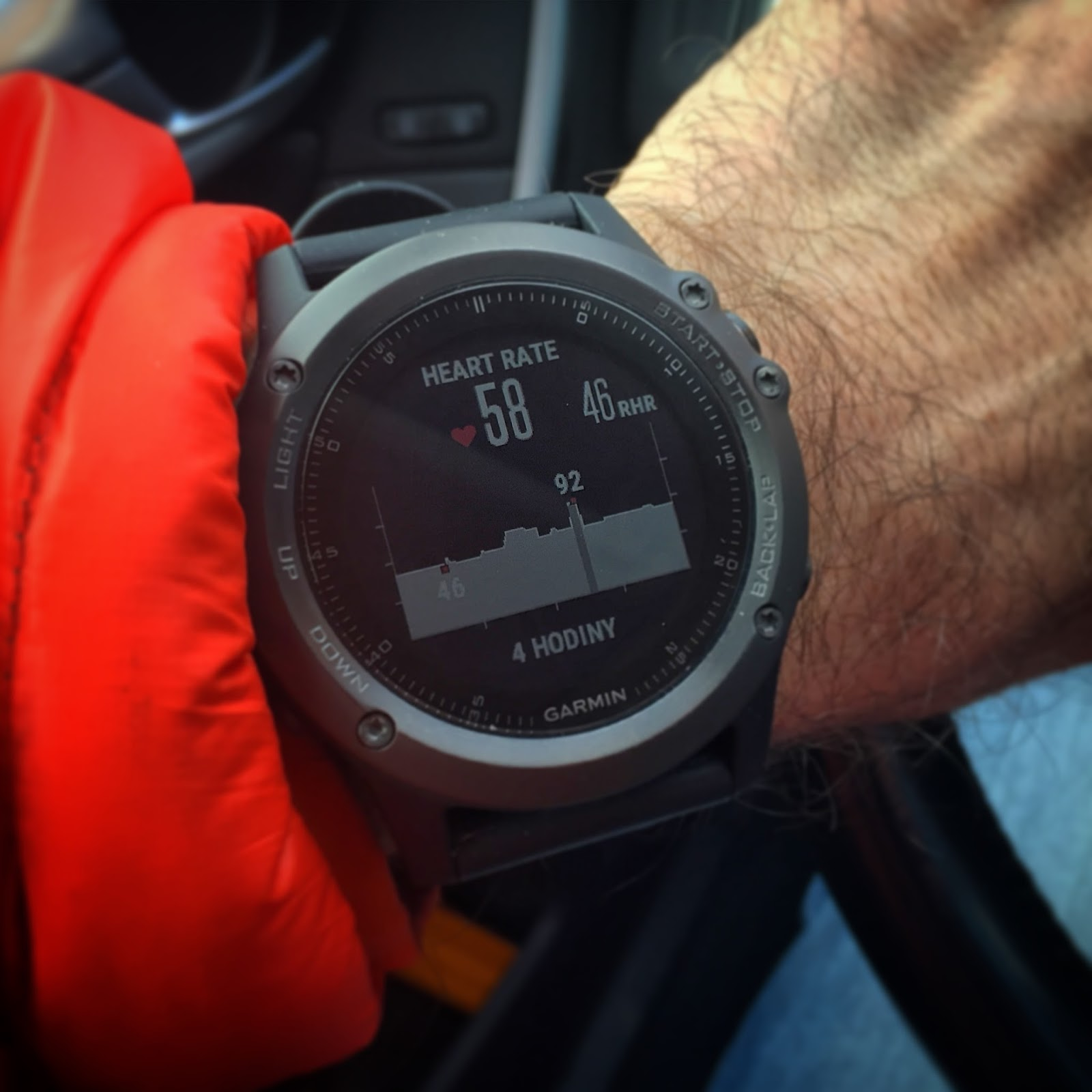 bc3f41409 Garmin Fénix 3 HR – jak se běhá bez tepáku? | Běhej srdcem