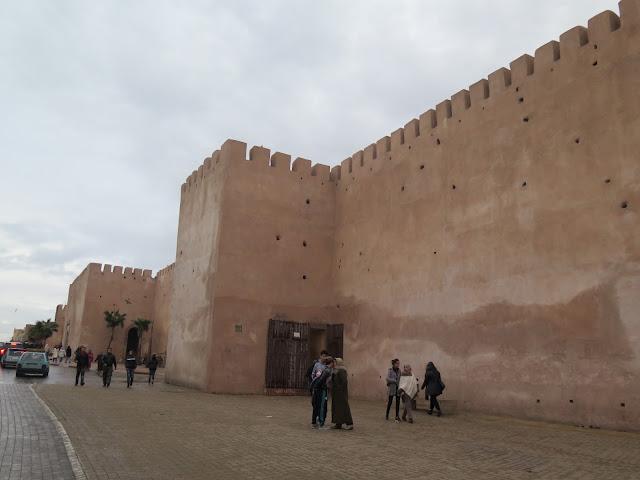 Murallas Ciudad Imperial de Meknes