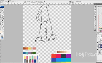 Cara Membuat Karakter Kartun Sendiri 6 - Hog Pictures