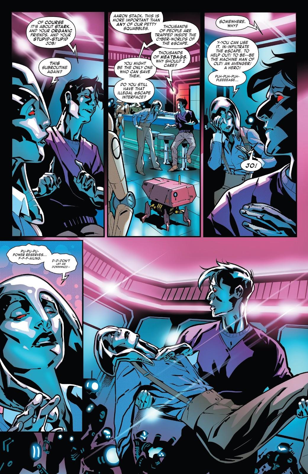 Read online Tony Stark: Iron Man comic -  Issue #7 - 18