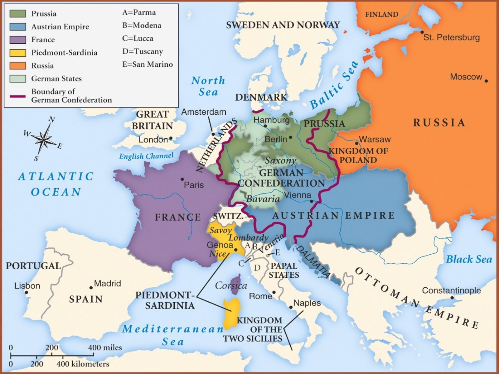 Rise Of Nationalism In Europe History Class