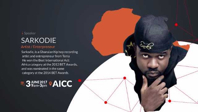 Sarkodie Set To Speak At 2017 Africa Dialogues Conference