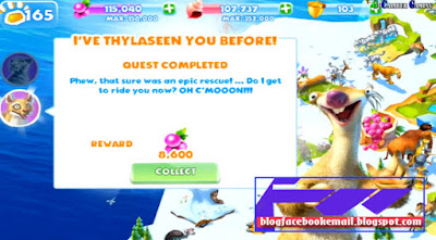 Game online petualangan gratis terbaru Ice Age Adventure