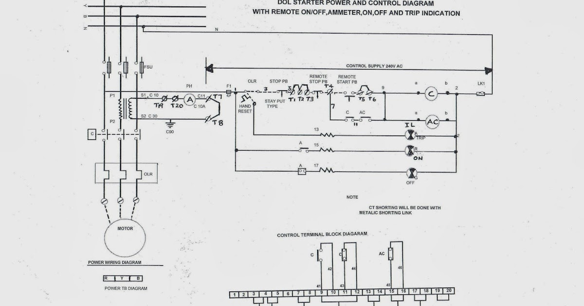 star fuse box diagram on wiring diagram for 3 phase dol starter
