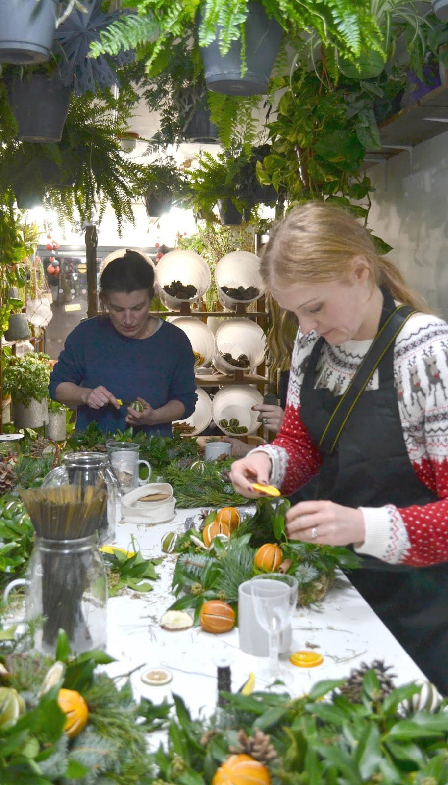Christmas Wreath Making Workshop - House of Botanics Stack