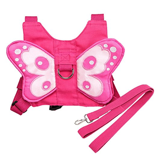 Butterfly child harness