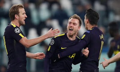 Highlight Juventus 2-2 Tottenham Hotspur, 14 Februari 2018