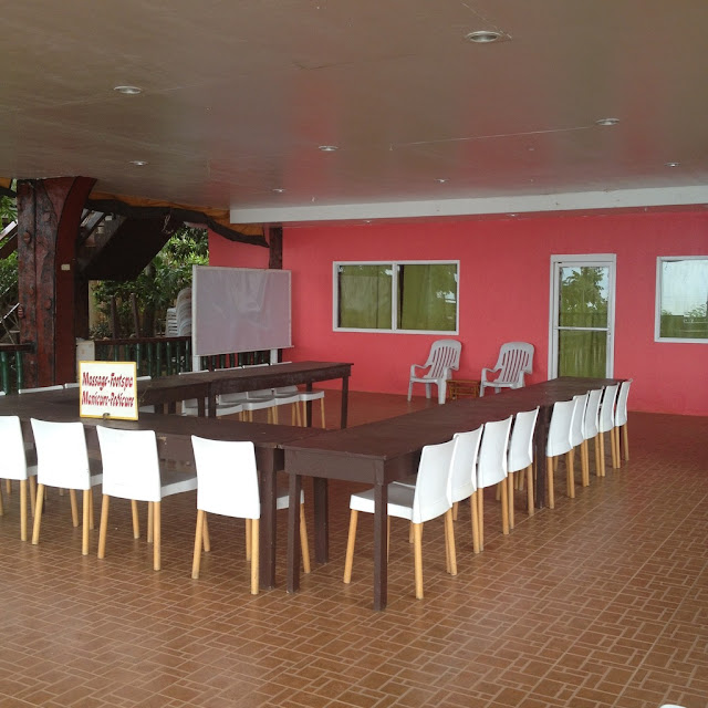 a function hall at Santiago Bay Garden and Resort