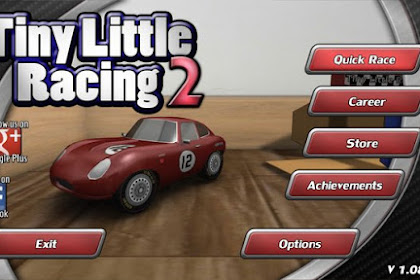 Download Tiny Little Racing 2 2.01 APK MOD Offline Super HD Terbaru 2017