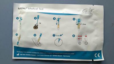 Kit de análisis de sangre oculta en heces, técnica y tiempo de realización