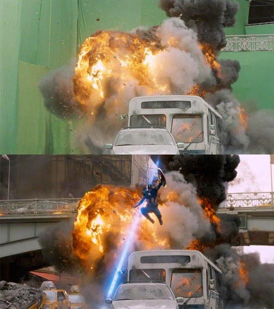 Vingadores efeitos especiais