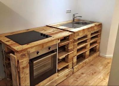 kreasi kayu palet