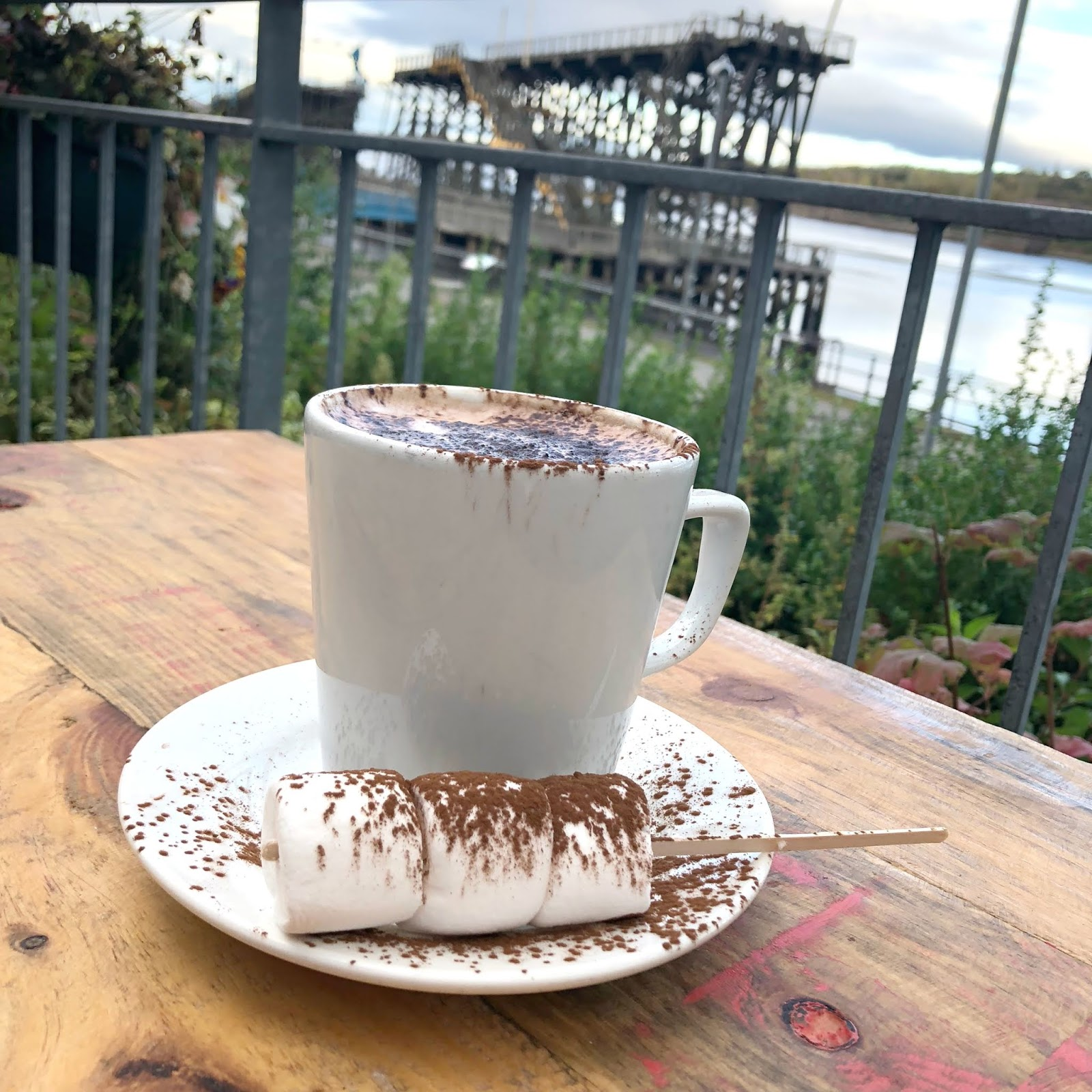 Best Hot Chocolate North East - Staithes Cafe