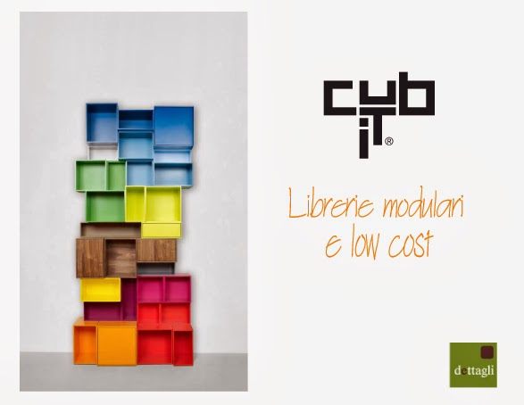 CUBIT librerie modulari e low cost | Dettagli Home Decor