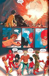 """Comic: Review de """"Jóvenes Titanes: Año uno"""" de Amy Wolfram y  Karl Kerschl - ECC Ediciones"""