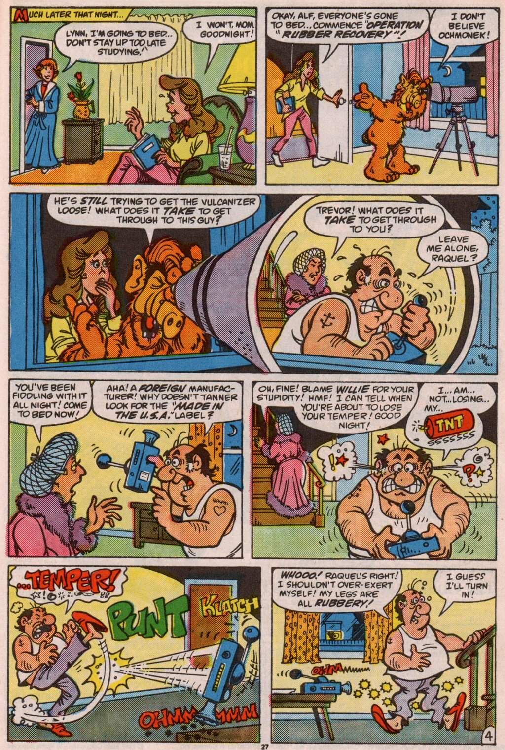 Read online ALF comic -  Issue #7 - 22