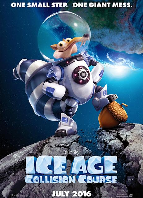 Poster nou pentru Ice Age 5: Collision Course