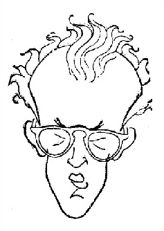 Caricatura de Antonio F. Argüelles y Ferrer
