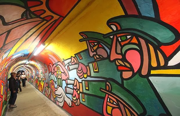 Ap spanish 2013 2014 murales de chile for Murales faciles y creativos