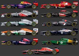 PROTOTIPOS F1 2013