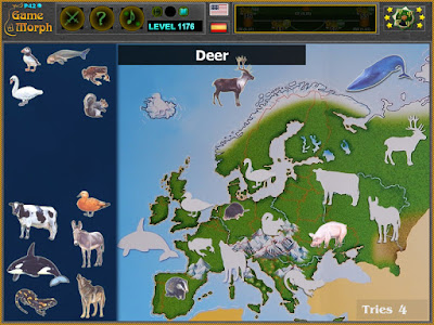 Животните на Европа Пъзел