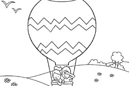 Mewarnai Gambar Kendaraan Udara