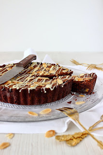 Chocolade Bakewell Tart