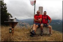 San Vítores mendiaren gailurra 895 m. -- 2017ko uztailaren 25ean