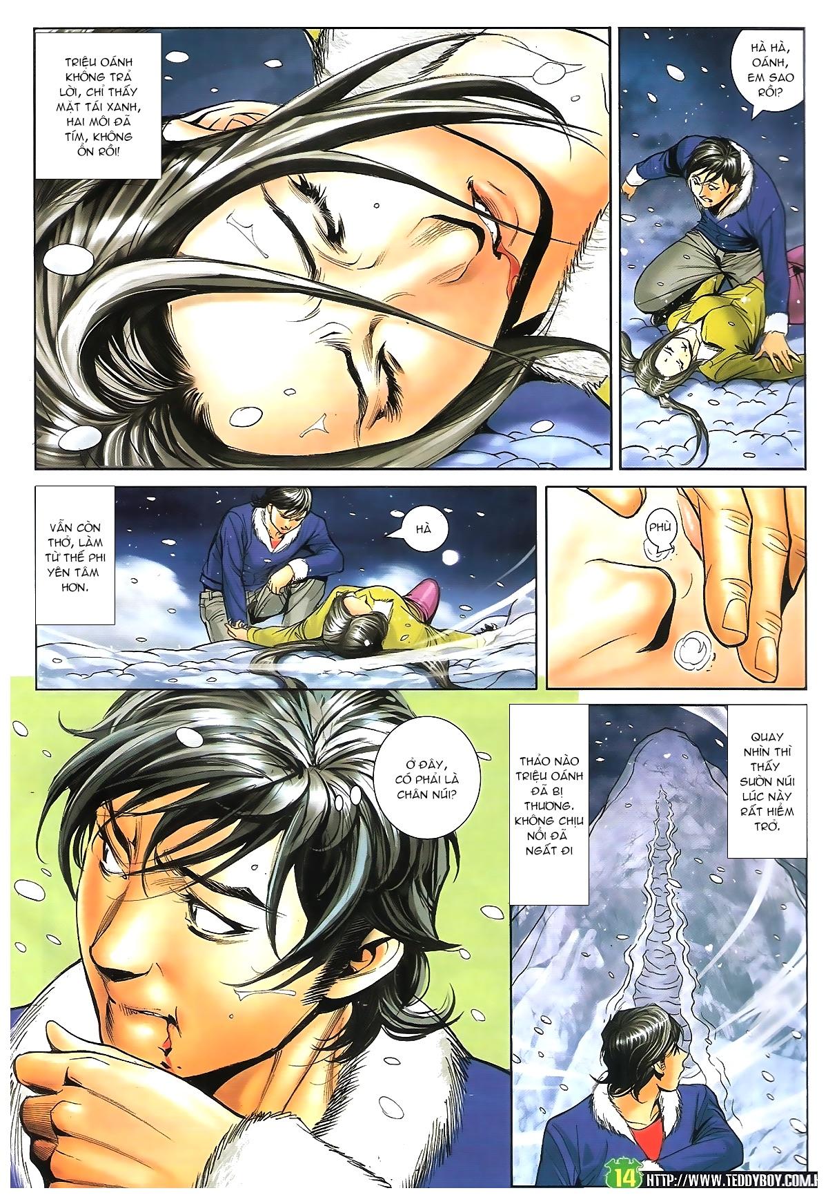 Người Trong Giang Hồ - Chapter 1616: Triệu Kế Bang vs Đinh Dao - Pic 13
