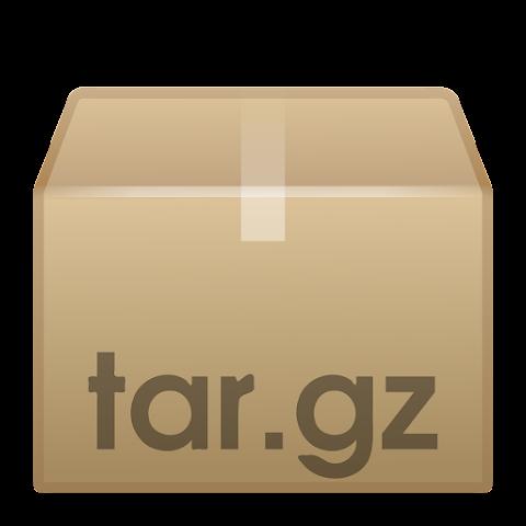 Cara membuat arsip file tar, gz di Linux