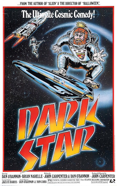 Dark Star 1974 science fiction movie poster